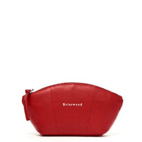 Large Leather Cosmetic Bag  - Briarwood027-00099$99