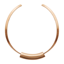 Rose Gold Collier w/ Tube - 028-01519$115