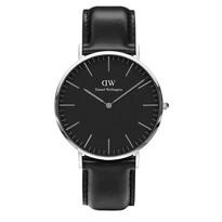 40mm SS Classic Black Sheffield Leather Watch - Daniel Wellington042-00382$379