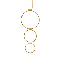 Tamara 3 Circle Gold Necklac - 028-02002$105