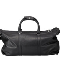 Leather Weekend Bag - Black - Cudworth020-01421$349