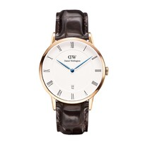 38mm RG Dapper White York Leather Watch - Daniel Wellington042-00272$309
