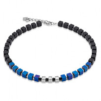 GeoCUBE Dark Blue Necklace - 028-00164$309