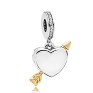 Arrow of Love openable hanging charm - 029-06422$119