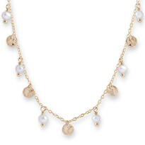 Freshwater Pearl Scatter Necklace - Bianc028-01913$109