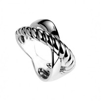 Twist Band Crossover Ring - Najo037-04121$149