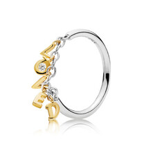 Pandora Shine Loved Script ring (sz 58) - Other sizes available037-04226$89