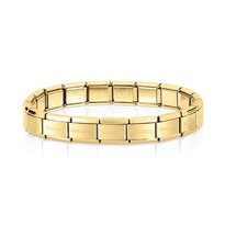 Trapped Structure Gold Plated Ring (sz Medium) - 037-01741$129