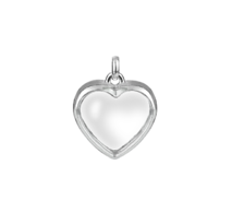 Stow Silver Medium Heart Locket