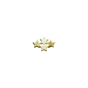 Stow Lockets 9ct Gold Wishing Star
