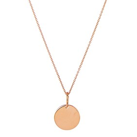 Najo Diana 9ct Rose Gold Necklace